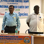 International Mother Earth Day on 22-4-2019 in association with AP Pollution Control Board, Vijayawada